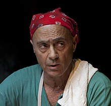 Salim Daw in in Ish Ve Isha play, Haifa Theatre (cropped).jpg