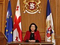 Salome Zourabichvili Declaring a COVID-19 State of Emergency in Georgia.jpg