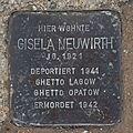 Salzburg - Altstadt - Arenbergstraße 33 - Stolperstein Gisela Neuwirth.jpg