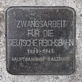 Salzburg - Elisabeth-Vorstadt - Südtirolerplatz Stolpersteine Hauptbahnhof - Zwangsarbeit.jpg