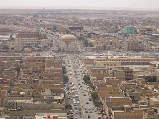 City in Muthanna, Iraq