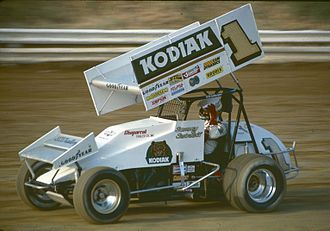Sammy Swindell - Swindell racing in the World of Outlaws