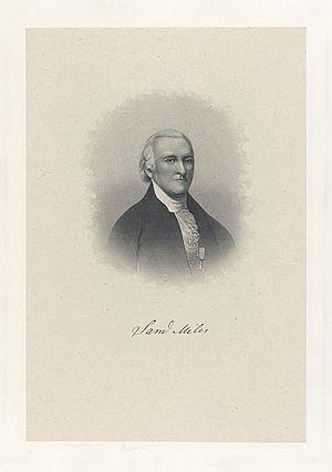 Samuel Miles - Samuel Miles, engraving by H.B. Hall