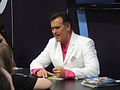 San Diego Comic-Con 2011 - Bruce Campbell signs for fans (Dark Horse booth) (5976788641).jpg