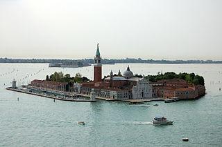 Benedictine monastery in Venice, Italy, on the island of San Giorgio Maggiore