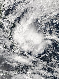 Tropical Storm Sanba (2018) Pacific typhoon in 2018