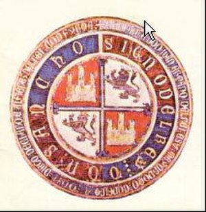 Ferdinand IV of Castile - Seal of Sancho IV of Castile, Ferdinand IV's father.