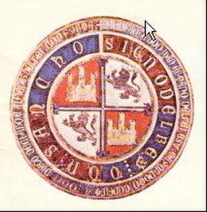 Ferdinand IV of Castile - Seal of Sancho IV of Castile, Ferdinand IV's father.