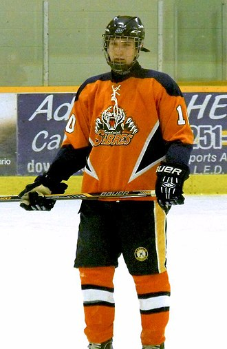 Sandwich Secondary School - Sabres player in 2014.
