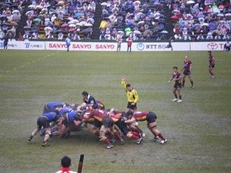 Top League - Fukuoka Sanix Blues v Kyuden Voltex at Global Arena, Round 11, 20 January 2008