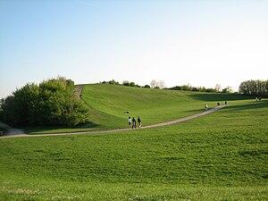 Sankt Hans Hill - View of Sankt Hans hill in April 2009.