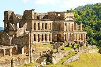 Sans-Souci Palace - Sans-Souci Palace, National History Park, Haiti.