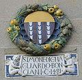 Sansepolcro, palazzo pretorio, stemma bonciani 1481.jpg