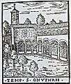 Sant'Onofrio al Gianicolo by Girolamo Francino (1588).jpg