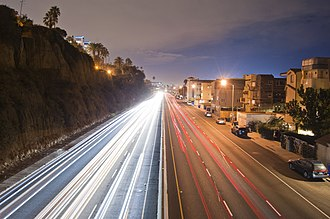 Pacific Coast Highway running through Santa Monica Santa Monica PCH.jpg