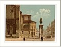 Santi Giovanni e Páolo church and statue of Bartolomeo Colleoni Venice Italy.jpg