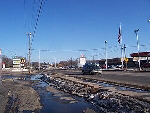Sauk City, Wisconsin - Image: Sauk City Wisconsin US12WIS60