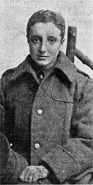 Saunders Lewis - Saunders Lewis as an army officer in 1916