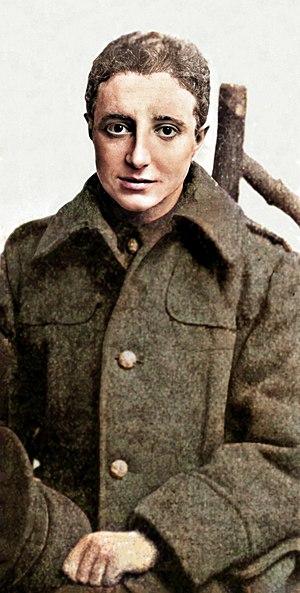 Saunders Lewis - Saunders Lewis as an army officer in 1916