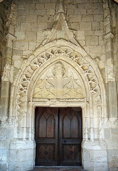 Savignac-sur-Leyze - Église Saint-Jean-Baptiste - Portail