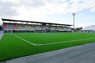 Kuopio Football Stadium - Image: Savon Sanomat Areena 20.9.2016