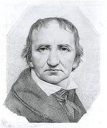 Johann Gottfried Schadow, Selbstporträt (Quelle: Wikimedia)