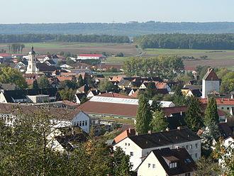 Scheinfeld - Image: Scheinfeld Nordost