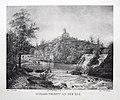 Schloss Pirmont an der Elz (Burg Pyrmont), gez. August Brandmeyer nach Gemälde von Johann Adolf Lasinsky.jpg