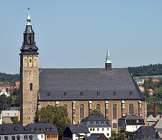 Schneeberg, Saxony - St. Wolfgangskirche