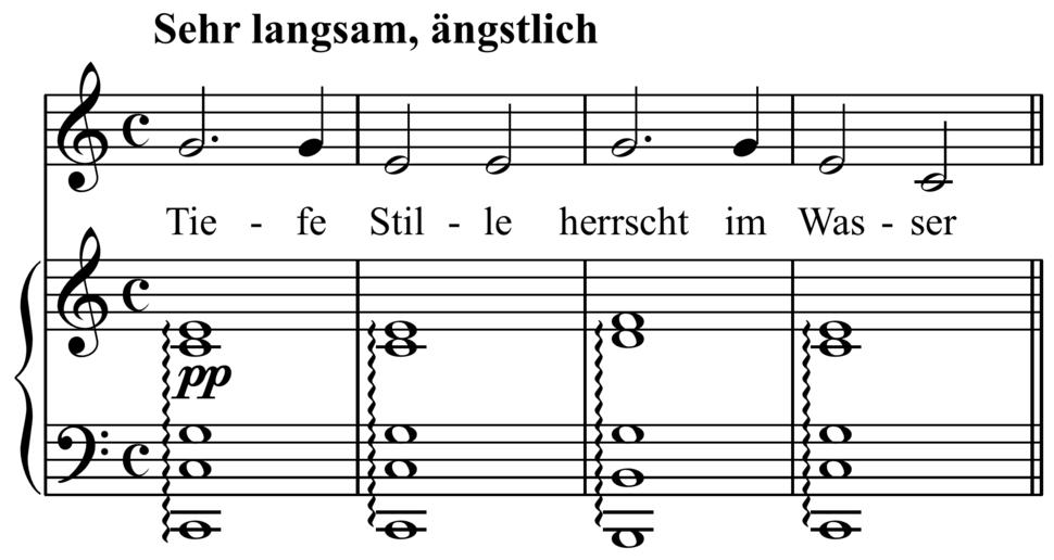 Schubert - %22Meeresstille,%22 D. 216 overtone series