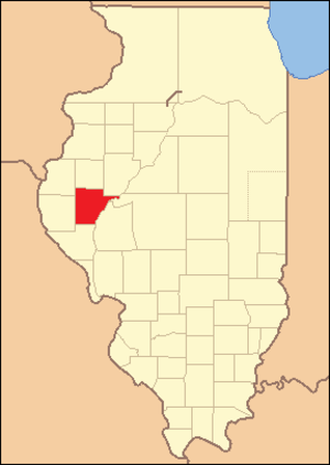 Schuyler County, Illinois - Image: Schuyler County Illinois 1830