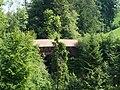 Schwänbergbrücke, gedeckte Holzbrücke über den Wissenbach P1030699.jpg