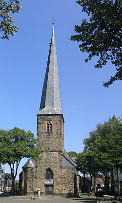 The church of st. Victor in Schwerte
