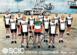 Scic cycling team 1974.jpg