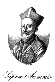 Scipione Ammirato Italian historian
