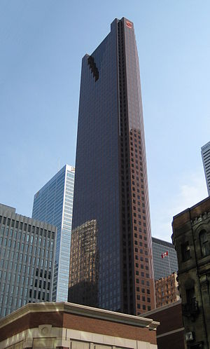 Financial District, Toronto - Image: Scotia Plaza 2009