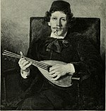 Charles Auguste Émile Durand, Poet with Mandolin