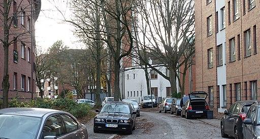 Sebastiangasse in Hamburg-Horn