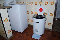 Secadora wikipedia la enciclopedia libre - Secador de ropa ...