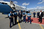 Secrertary Tillerson Poses for a Photo With Alaska State Troopers at Eielson Air Force Base (33759350824).jpg