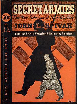John L. Spivak - Cover of Secret Armies (1939) by John L. Spivak