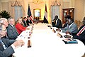 Secretary Clinton Holds a Bilateral With Sudanese Vice President Kiir (5016792684).jpg