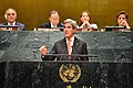 Secretary Kerry Delivers Remarks at the Event on the UN Paris Agreement Entry Into Force (29801358406).jpg