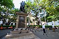 Secretary Kerry Looks at a Statue in the Plaza de Bolivar (29922993126).jpg