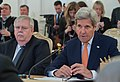 Secretary Kerry Speaks With Russian Foreign Minister Lavrov in Moscow, Russia (25728030390).jpg