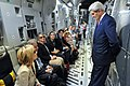Secretary Kerry Talks With Traveling Press Corps En Route to Iraq (14485893632).jpg