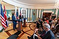Secretary Pompeo Participates in a Joint Press Availability With United Kingdom Foreign Secretary Raab (48482009152).jpg