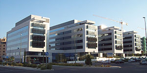 ACS Group - Head offices of Dragados (Madrid), a construction company acquired by ACS in 2003.