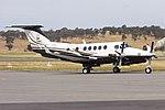 Seidler Properties (VH-OWN) Beechcraft King Air B200 at Wagga Wagga Airport.jpg