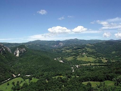 Albegna valley, Semproniano, Rocchette Di Fazio, Valle dell'Albegna, Roccalbegna
